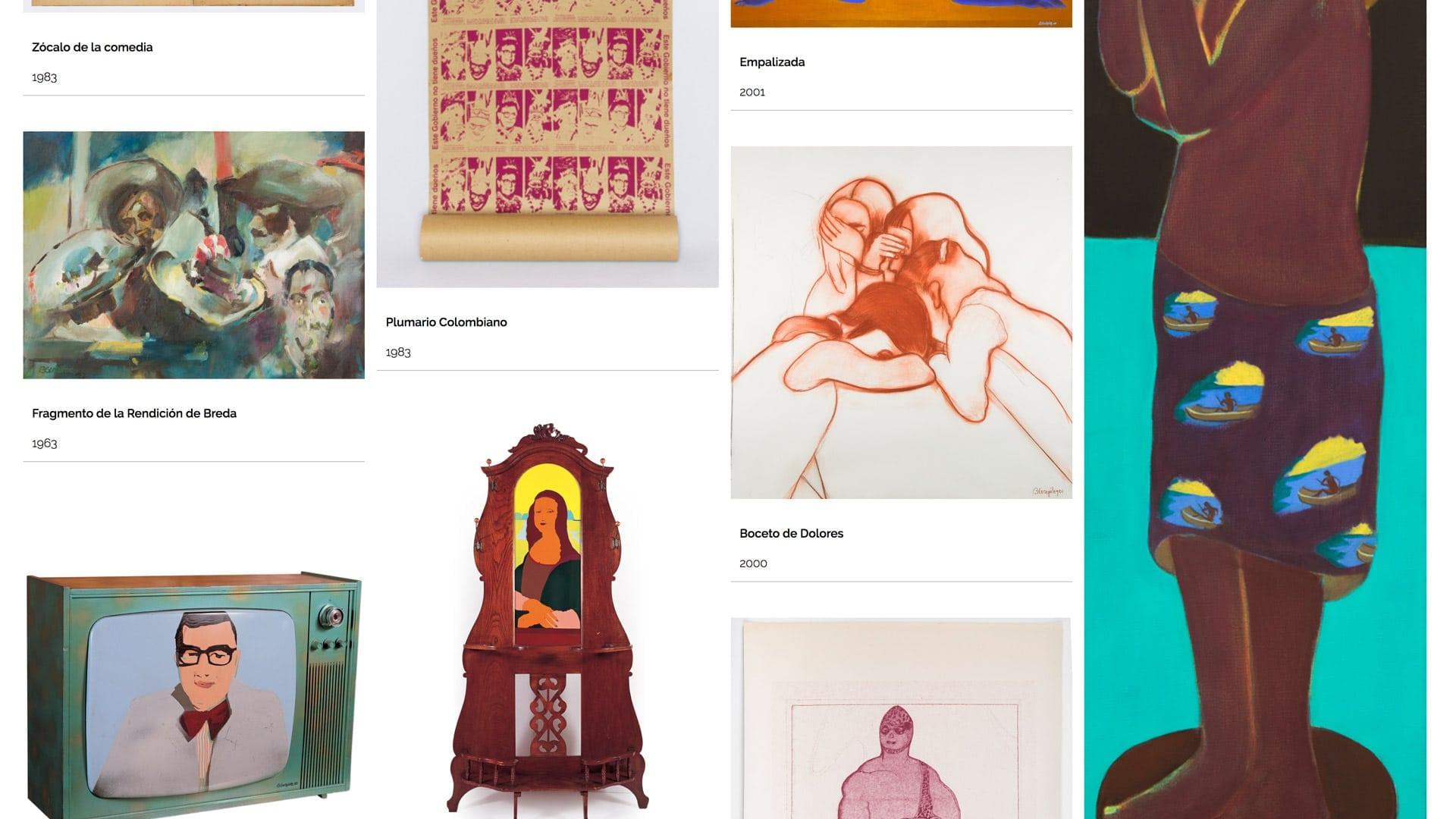 Visite el Catálogo razonado de Beatriz González