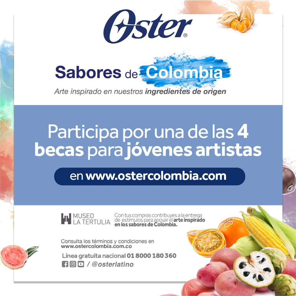 Convocatoria Sabores de Colombia