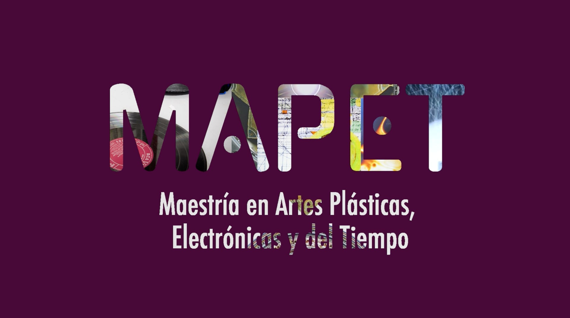 Conozca los estudiantes de la Maestría en Artes Plásticas, Electrónicas y del Tiempo