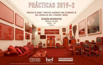 Reunión informativa: Prácticas 2019-2