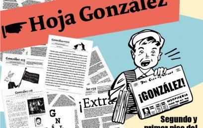 Inauguración exposición del archivo Hoja González