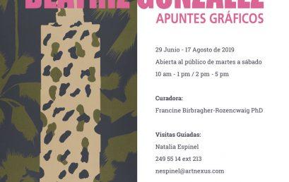 Exposición Apuntes gráficos de Beatriz González