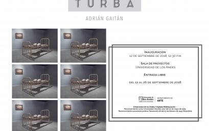 Exposición Turba de Adrián Gaitán