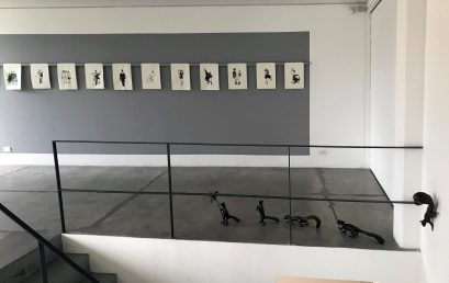 """Artículo sobre la exposición """"Los peripatéticos"""" de Lucas Ospina en El Tiempo"""