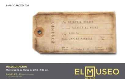 Exposición Extinto de Javier Vanegas