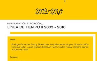 Línea de tiempo II 2003 – 2010