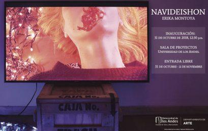 Exposición Navideishon de Erika Montoya