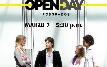 Open Day de Posgrados de la Facultad de Artes y Humanidades