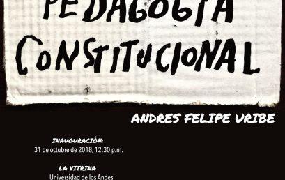 Exposición Pedagogía constitucional
