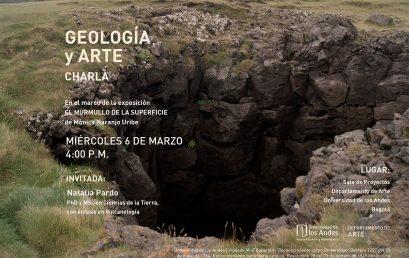 Charla Geología y Arte de Mónica Naranjo Uribe