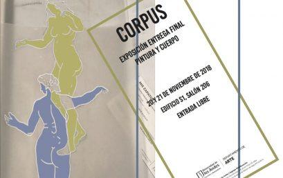 Exposición Corpus: Entrega final Pintura y cuerpo