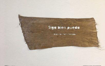 Exposición curso intersemestral de plásticas: Siga bien pueda