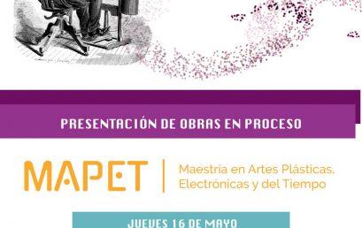 Presentación de obras en proceso – MAPET