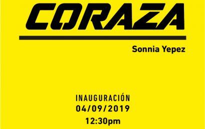 Exposición Coraza de Sonnia Yepez