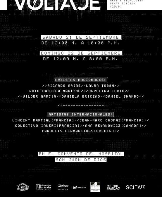 Voltaje – 6º salón de arte y tecnología – Día 2