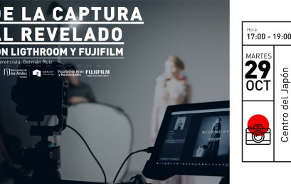 Taller: De la captura al revelado con Lightroom y Fujifilm