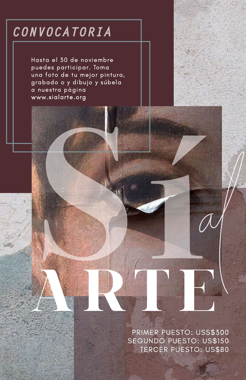 Convocatoria Sí al Arte