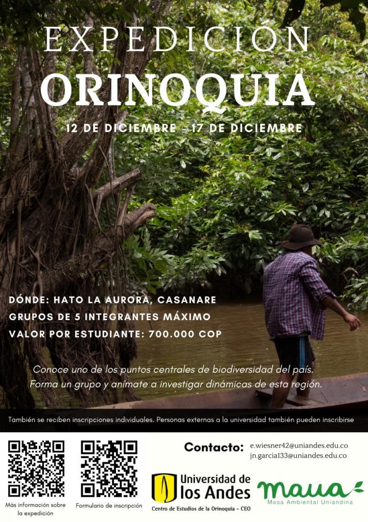 Expedición Orinoquia 12-17 Diciembre.