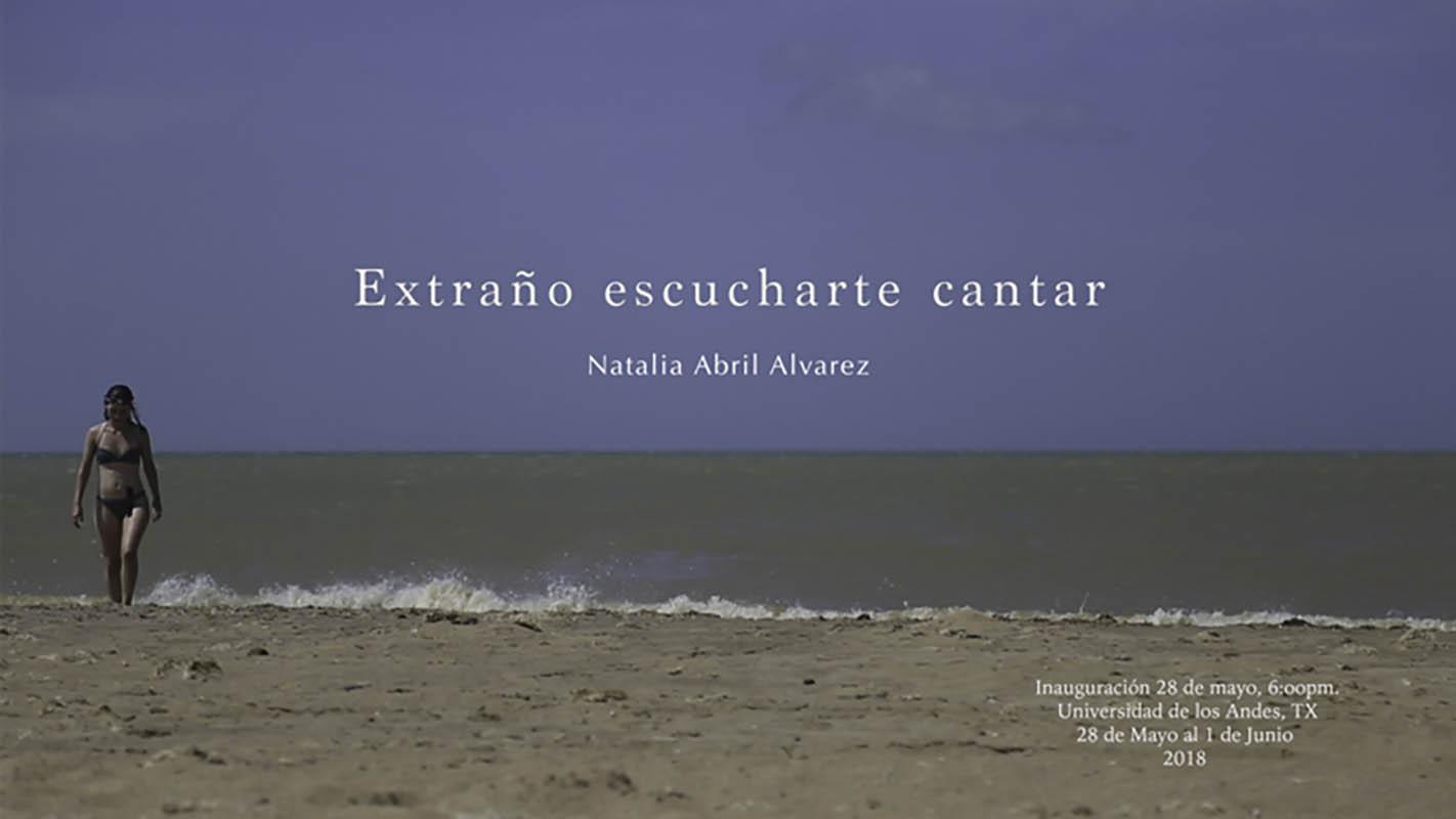 Extraño escucharte cantar – Natalia Abril