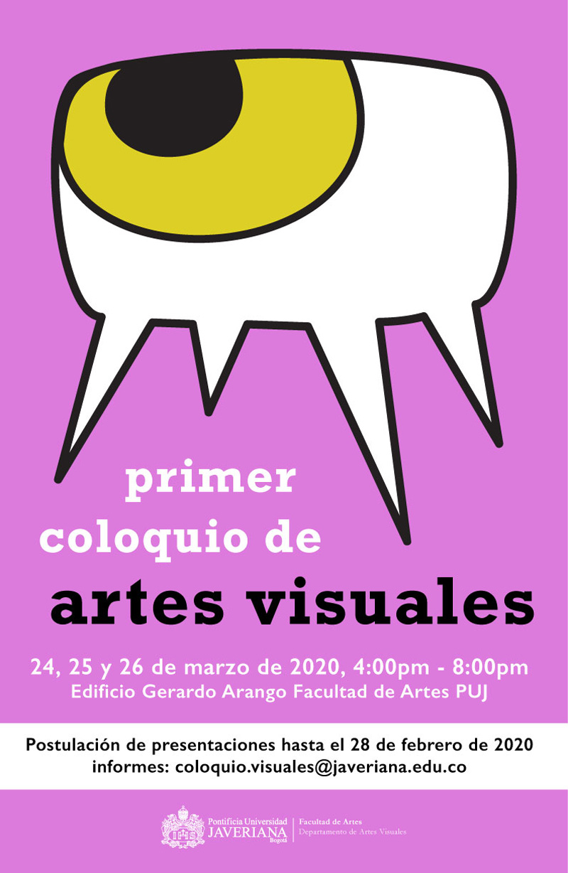 Convocatoria Primer coloquio de artes visuales