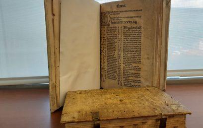 Exposición de libros incunables