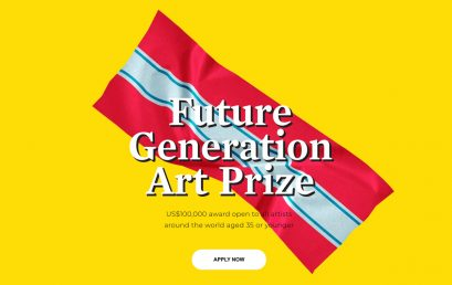 Convocatoria: sexta edición del Premio de Arte Futura Generación