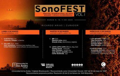 sonoFEST, Vol. 1 – Festival internacional de arte sonoro y música experimental