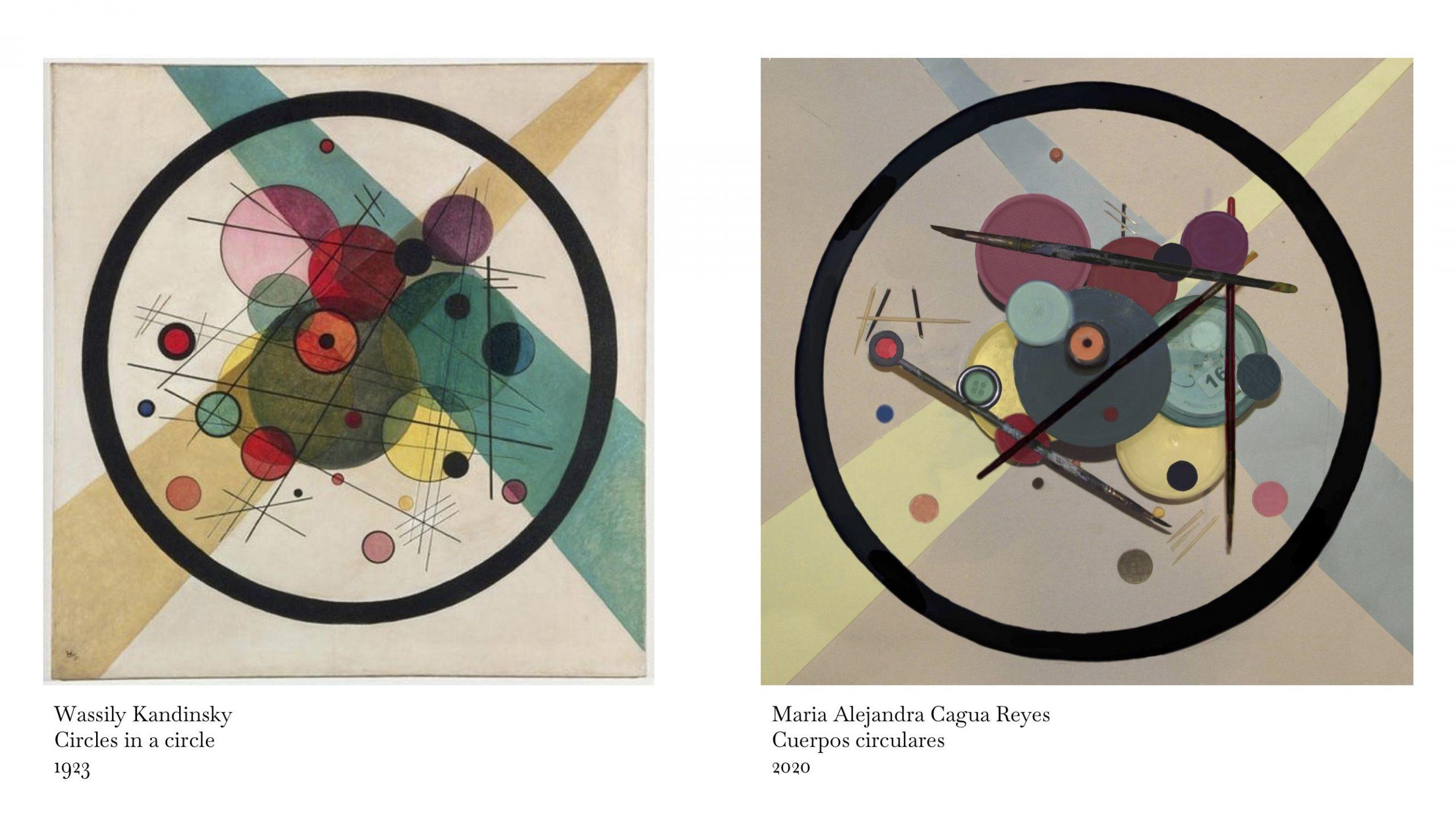Cuerpos circulares – Maria Alejandra Cagua
