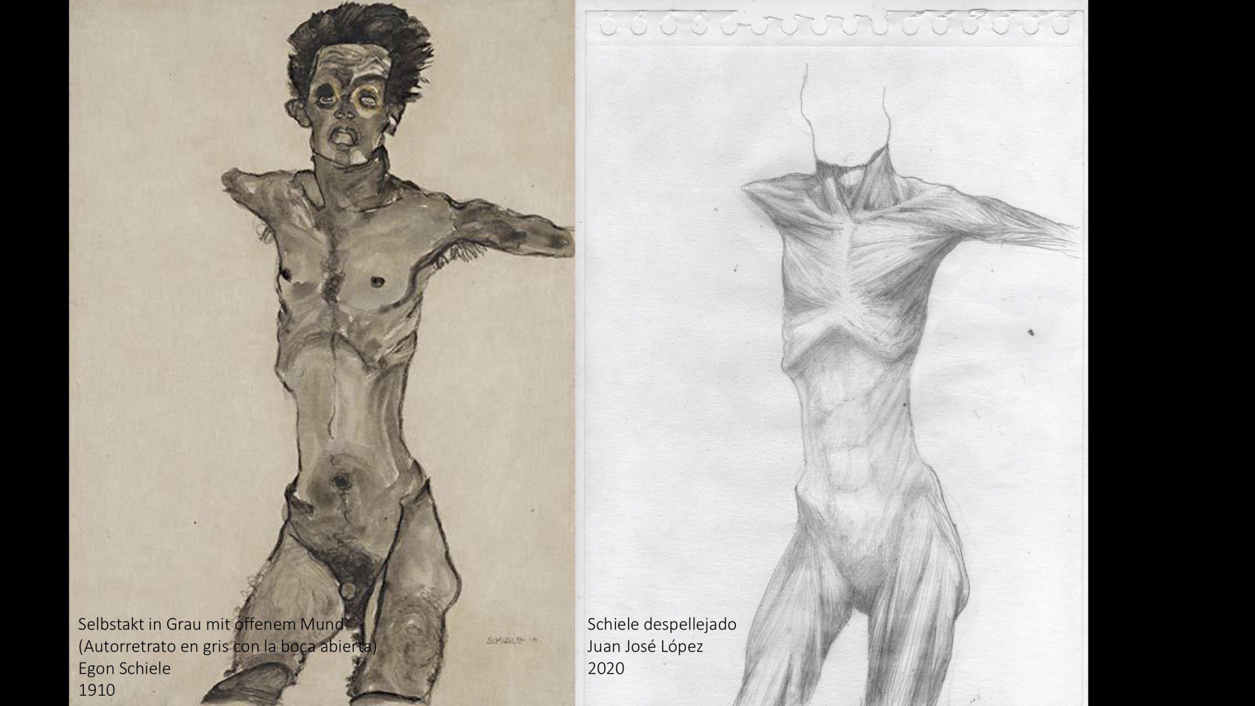 Schiele despellejado – Juan José López