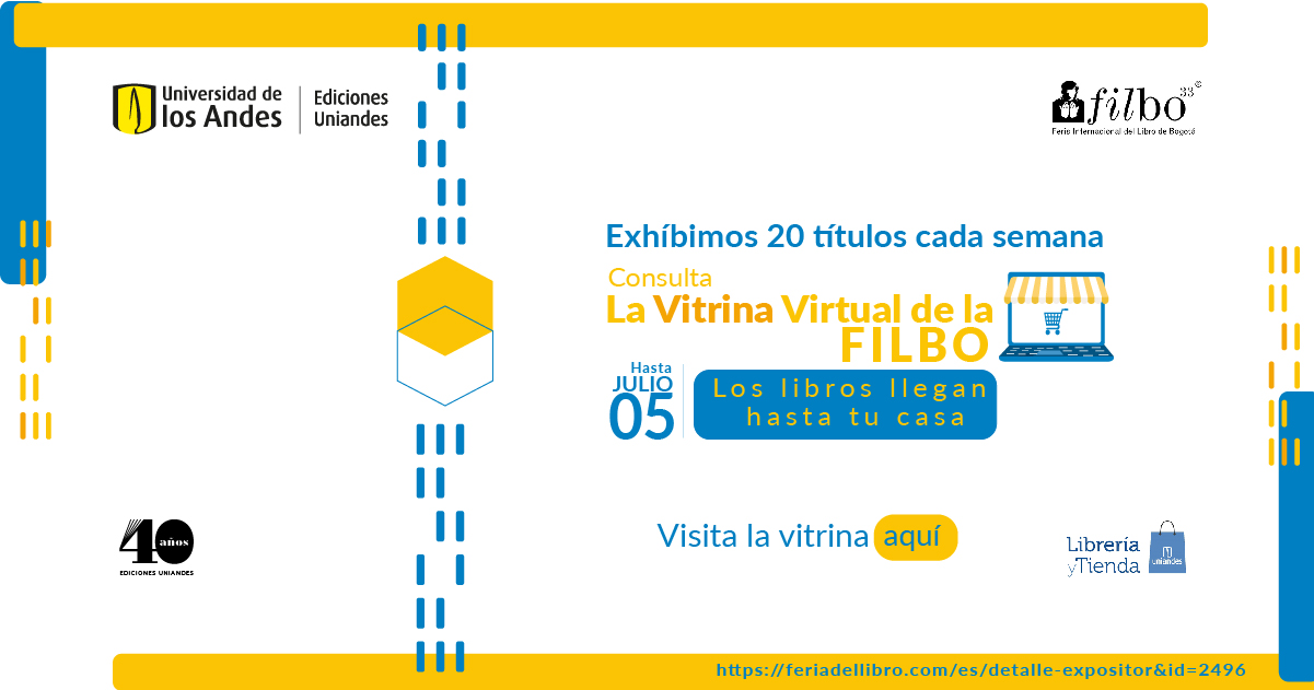 Los Andes en la Vitrina Virtual de la Feria Internacional del Libro de Bogotá