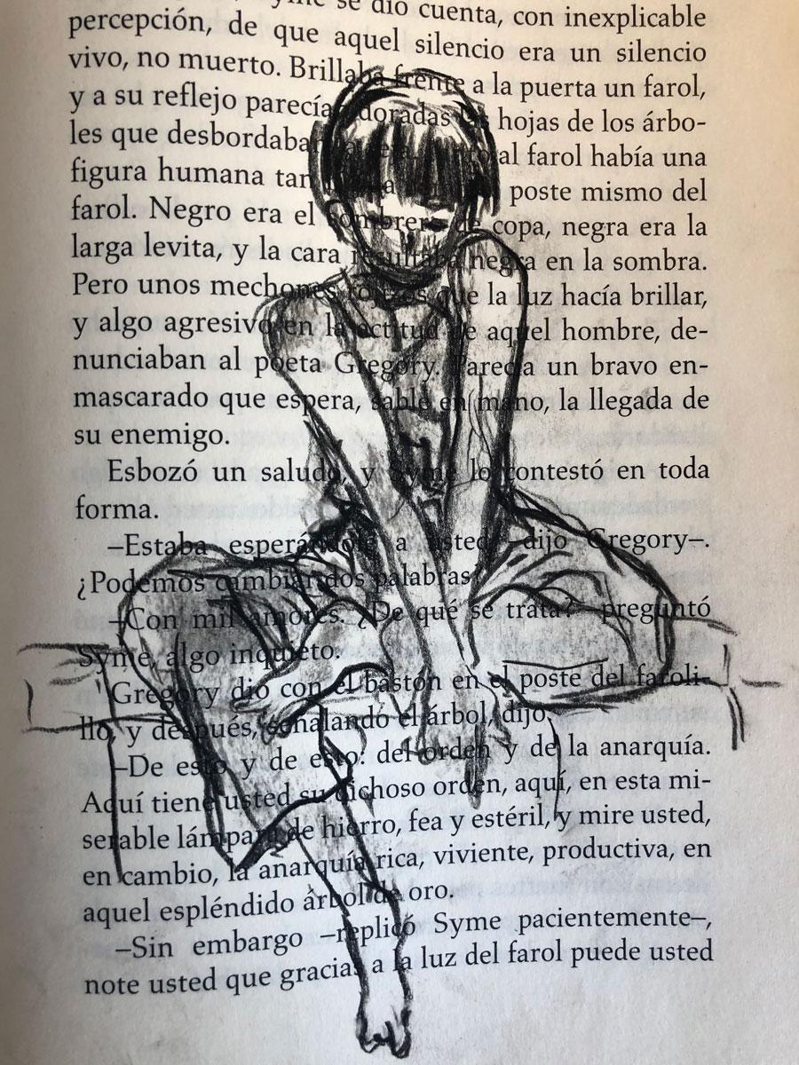 Dibujos en libro – Ageha