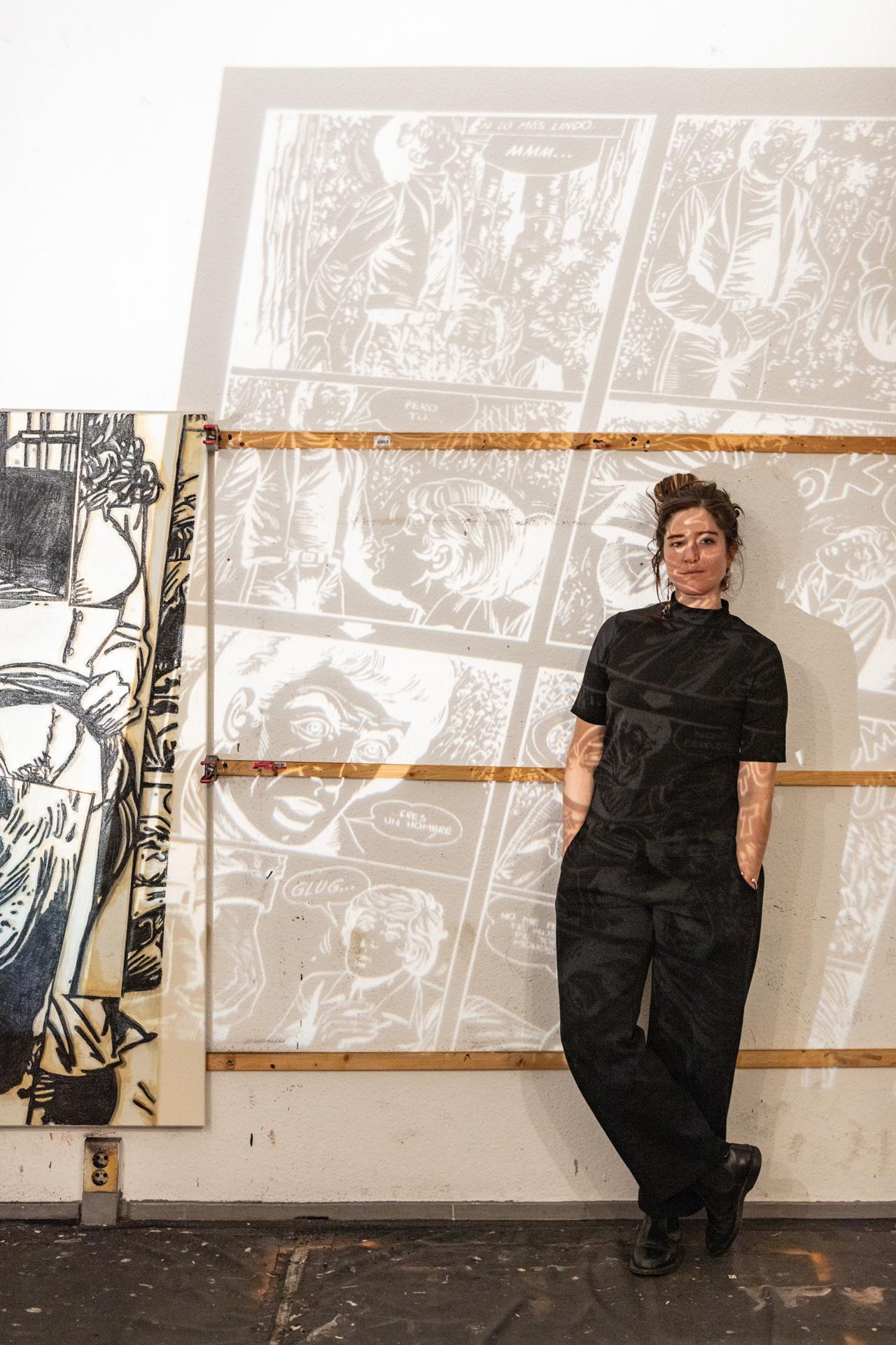 Entrevista ilustrada con Juana Anzellini, egresada de Arte