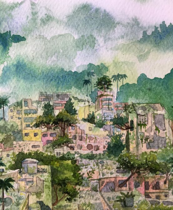 Paisaje de cuarentena, La Macarena – Próspero Carbonell