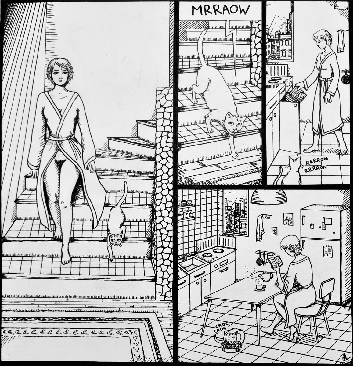 Sola en casa – Clémence Holstein