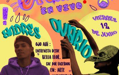 Arte sin Fronteras: transmisión en vivo con Andrés Fee y Ovario