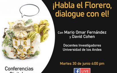 ¡Habla el florero dialogue con él!