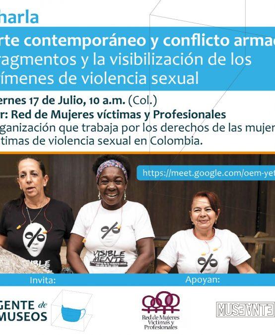Arte contemporáneo y conflicto armado: fragmentos y la visibilización de los crímenes de violencia sexual