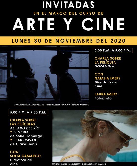 Arte y Cine: conversaciones con Natalia y Laura Imery y Sofía Camargo