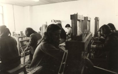 El arte textil en la academia