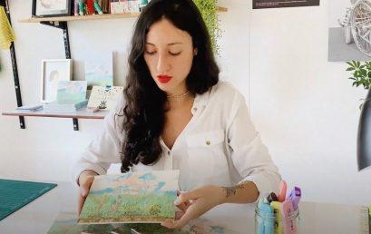 Uniandinos – Dosis cultural: Irene Velasco, egresada de Arte