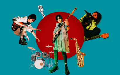 Luisa Quiroga, egresada de Arte, lanza el proyecto musical REDNBLUE