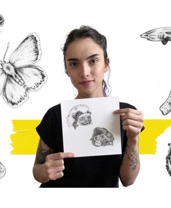 """""""La universidad no es para aprender técnica, es para construir un criterio"""", Laura Giraldo, egresada de Arte y tatuadora"""