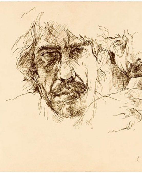 Blog Badac | Dos poemas que complementan el erotismo en los dibujos de Luis Caballero Holguín