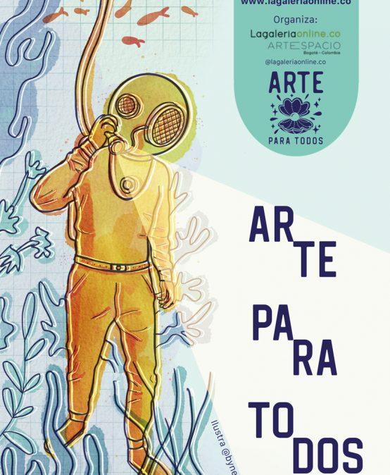Convocatoria Arte para todos de Lagaleriaonline.co
