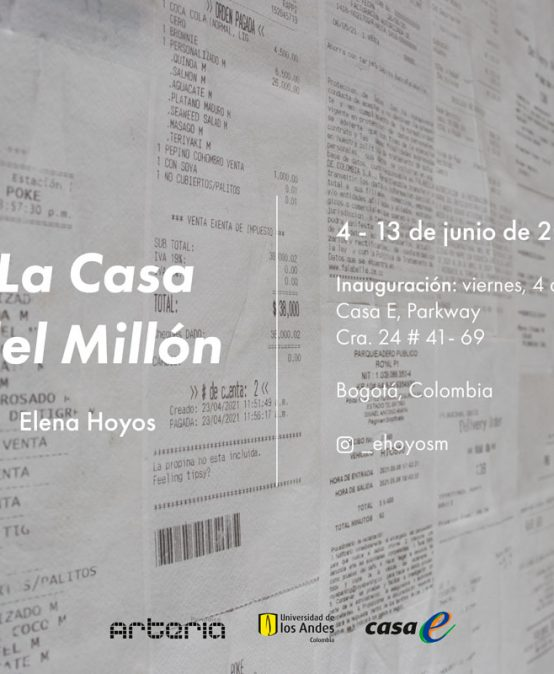 Exposición La casa del millón de Elena Hoyos