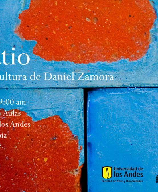 Curatio: acción escultórica de Daniel Zamora