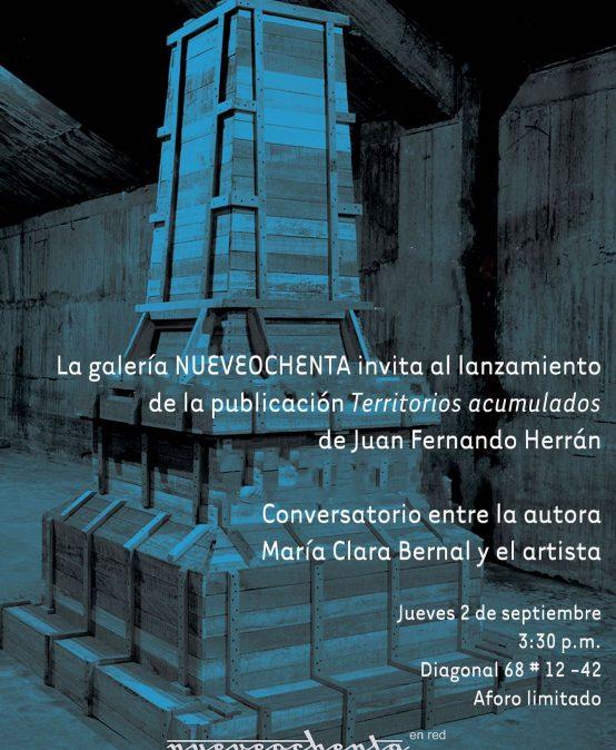 Lanzamiento de Territorios acumulados de Juan Fernando Herrán | Uniandes