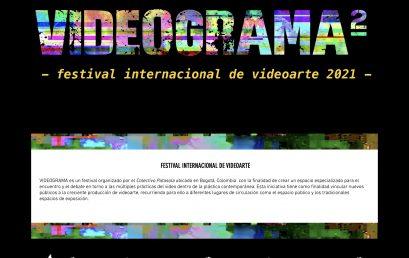 Convocatoria: Festival Internacional de videoarte VIDEOGRAMA