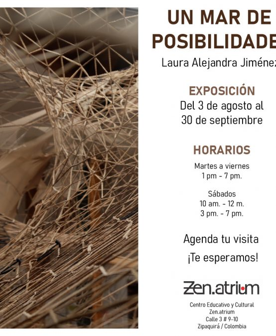 Exposición: Un mar de posibilidades de Laura Alejandra Jiménez