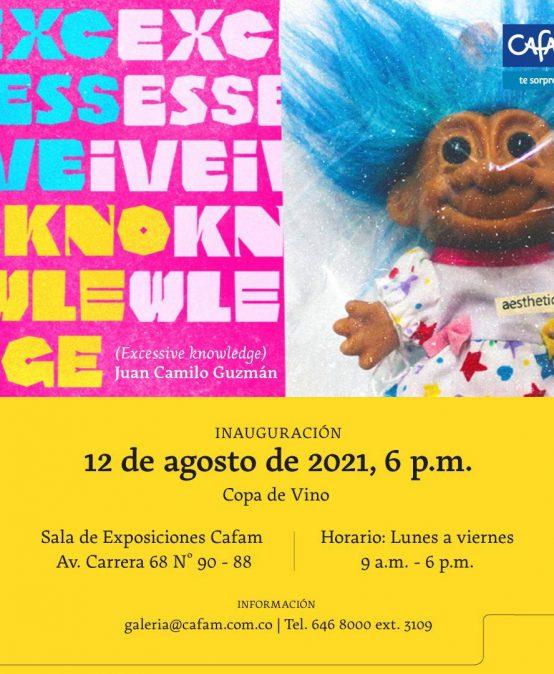 Inauguración Exposición Excessive Knowledge (Conocimiento excesivo)